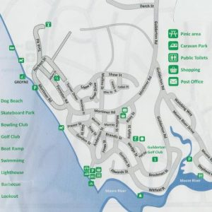 Map of Guilderton